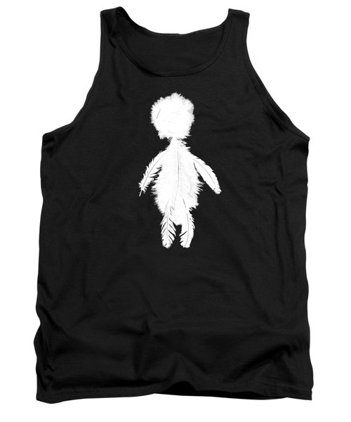 Featherman From Playing The Angel White Tank Top