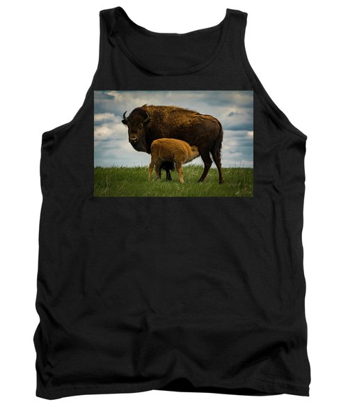 Tank Top featuring the photograph Feeding Time II by Gary Lengyel