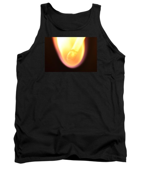 Tank Top featuring the photograph Match And Fire by Glenn Gordon