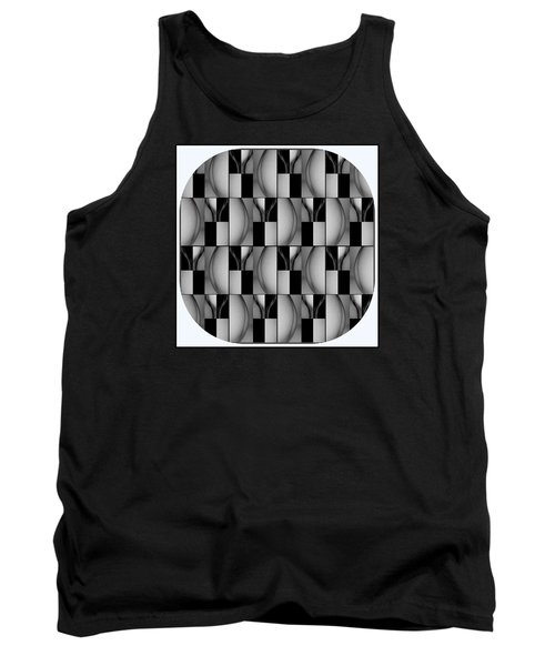 Female Abstraction Image Three Tank Top