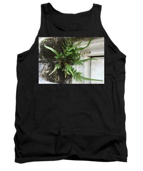 Tank Top featuring the painting Fern by Kim Nelson