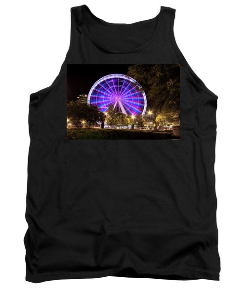 Ferris Wheel At Centennial Park 1 Tank Top