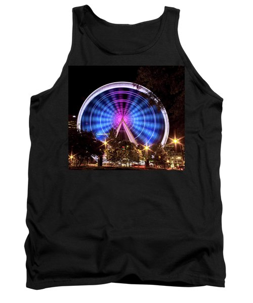 Ferris Wheel At Centennial Park 2 Tank Top