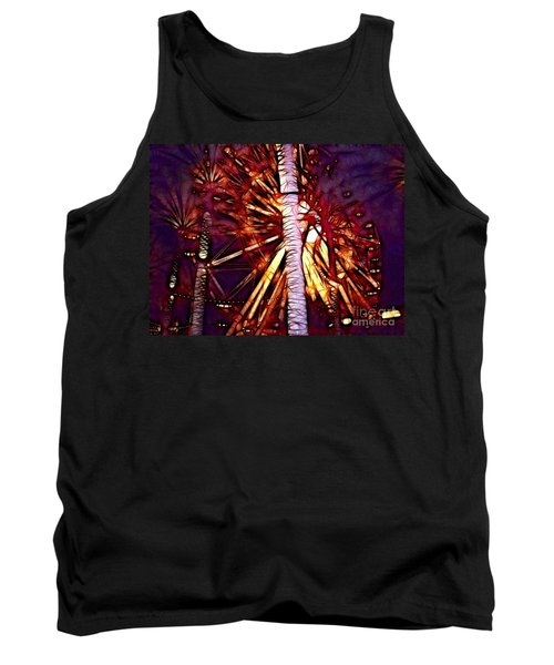 Tank Top featuring the photograph Ferris Wheel  by Mariola Bitner