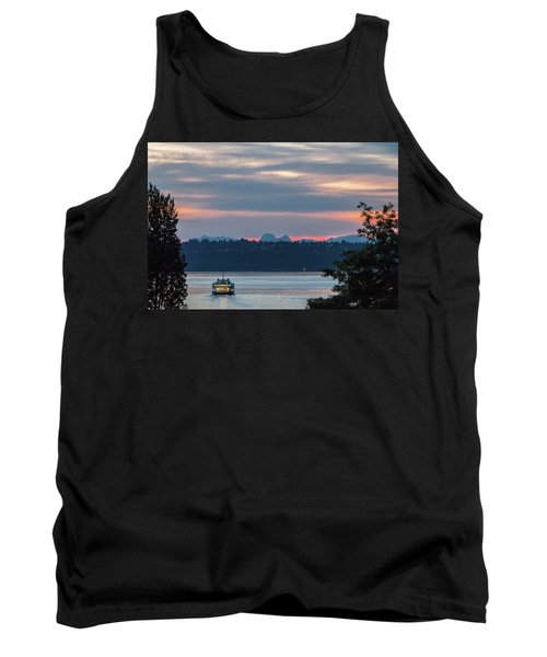 Ferry Tillikum At Dawn Tank Top