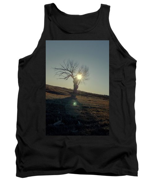 Field And Tree Tank Top