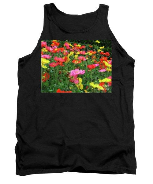 Field Of Poppies Tank Top