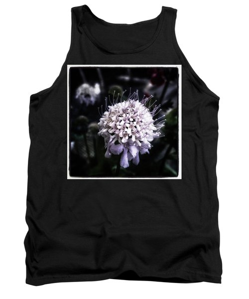 Tank Top featuring the photograph Field Scabious. A Member Of The by Mr Photojimsf
