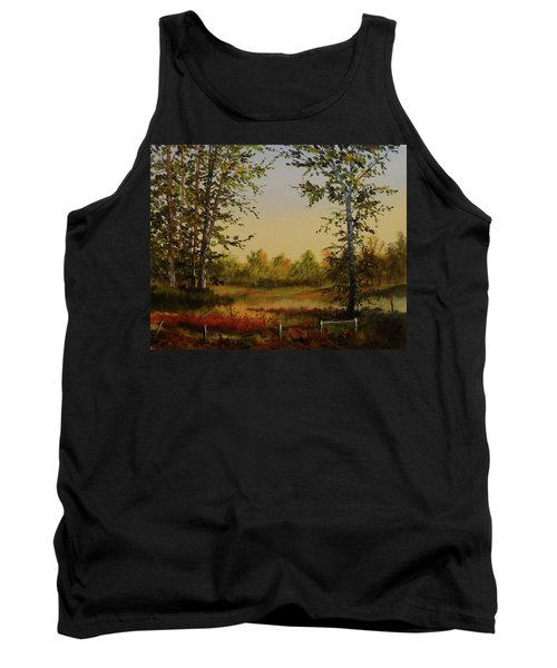 Fields And Trees Tank Top