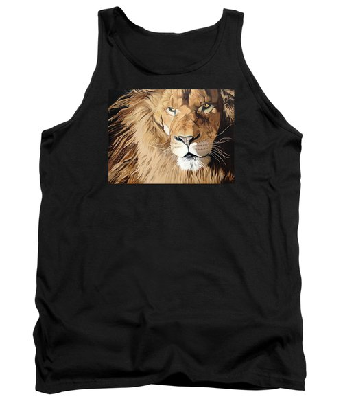 Fierce Protector Tank Top by Nathan Rhoads