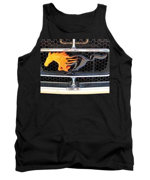 Fiery Mustang Tank Top