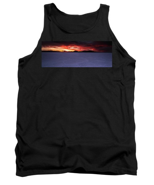 Tank Top featuring the photograph Fight For The Light by Edgars Erglis