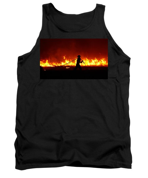 Fighting The Fire Tank Top