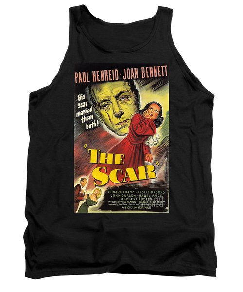 Film Noir Poster  The Scar Tank Top
