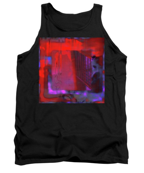 Tank Top featuring the digital art Final Scene - Before The Bell by Wendy J St Christopher