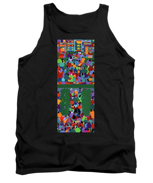 We The People Diptych Tank Top