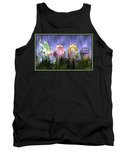 Finding Nemo Figurine Characters Tank Top by Brian Wallace