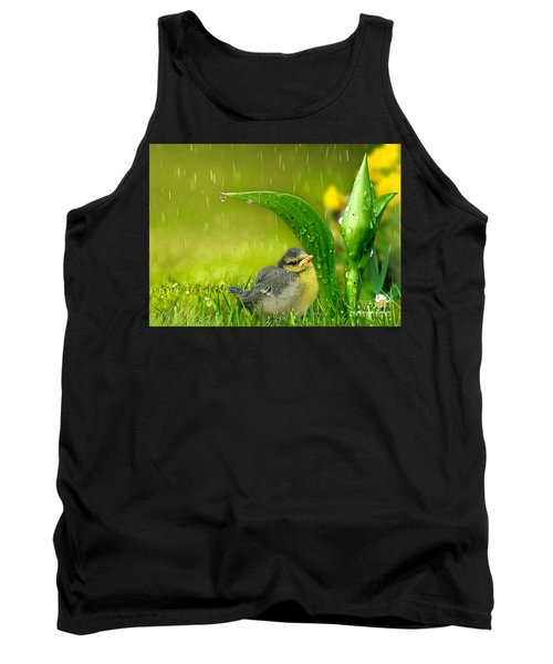 Finding Shelter Tank Top by Morag Bates