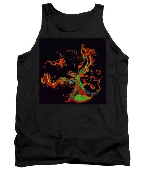Fire Dancer Tank Top
