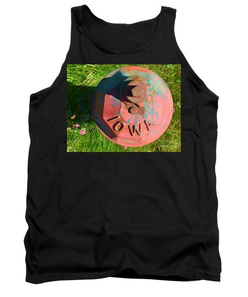 Fire Hydrant #7 Tank Top by Suzanne Lorenz