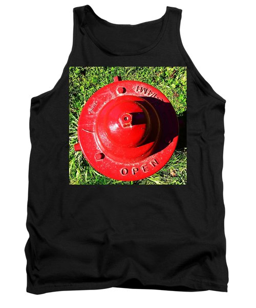 Fire Hydrant #8 Tank Top by Suzanne Lorenz