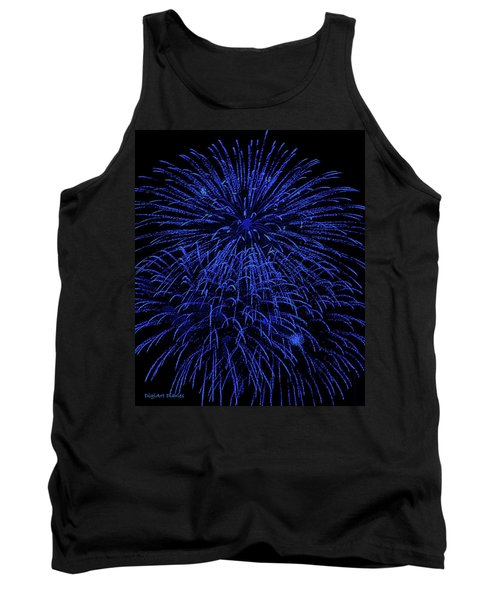 Firework Blues Tank Top
