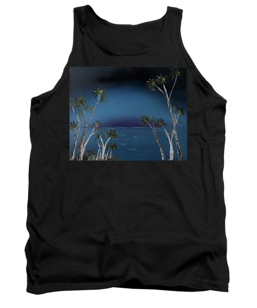 Fireworks Palms Tank Top