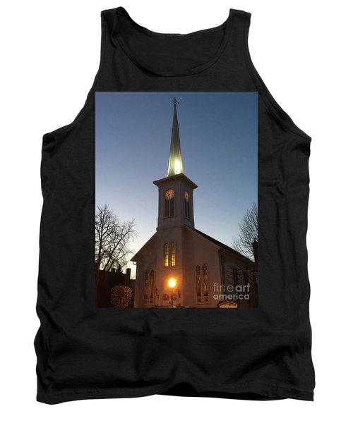 First Presbyterian Churc Babylon N.y After Sunset Tank Top
