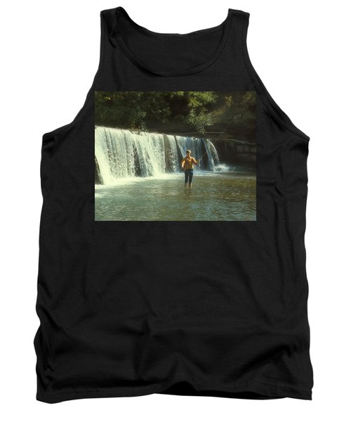 Fishing For Smallies Tank Top by Garry McMichael