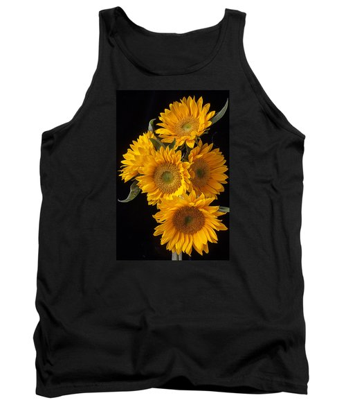 Five Sunflowers Tank Top
