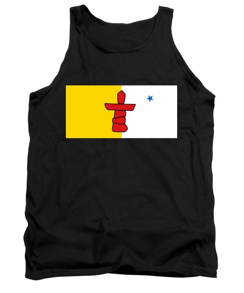 Flag Of Nunavut High Quality Authentic Hd Version Tank Top by Bruce Stanfield