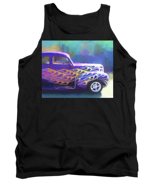 Flamed 1940 Ford Tank Top