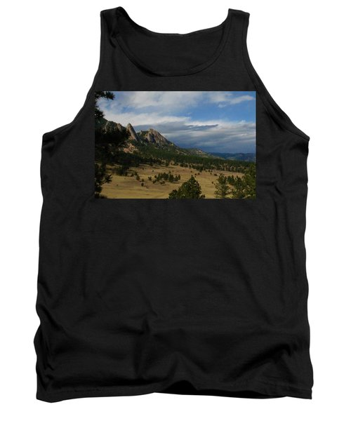 Flatirons, Boulder, Colorado Tank Top