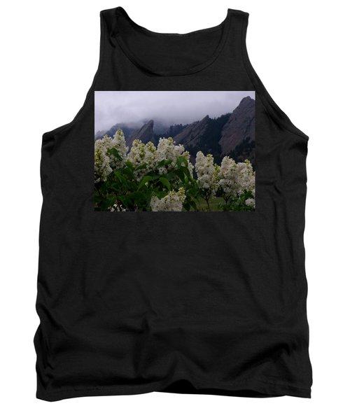Flatirons White Lilacs Tank Top