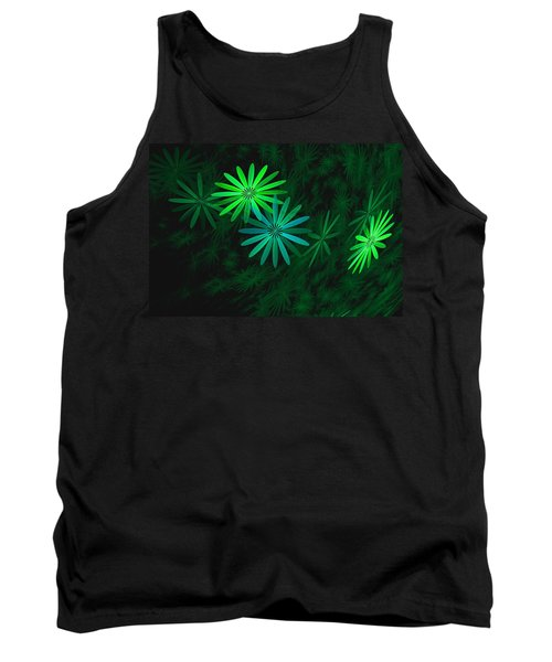 Floating Floral-007 Tank Top