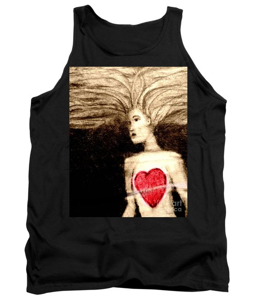 Floating Heart Tank Top