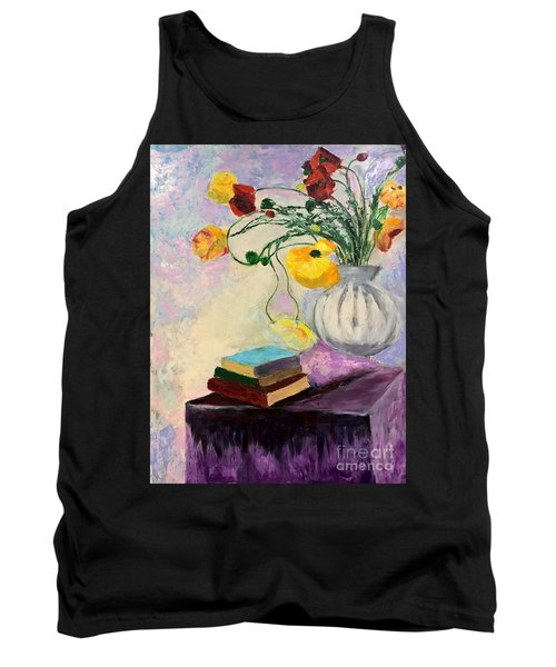 Floral Abstract Tank Top