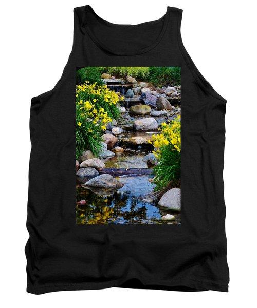 Floral Creek Tank Top
