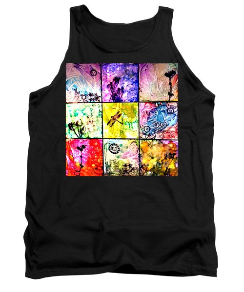 Floral Frenzy Tank Top by Alene Sirott-Cope