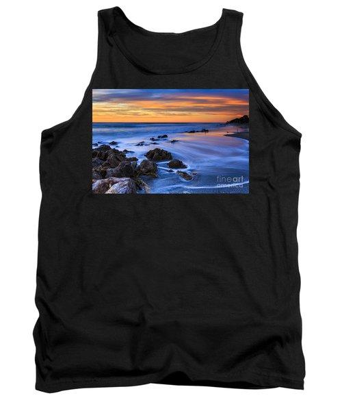 Florida Beach Sunset Tank Top