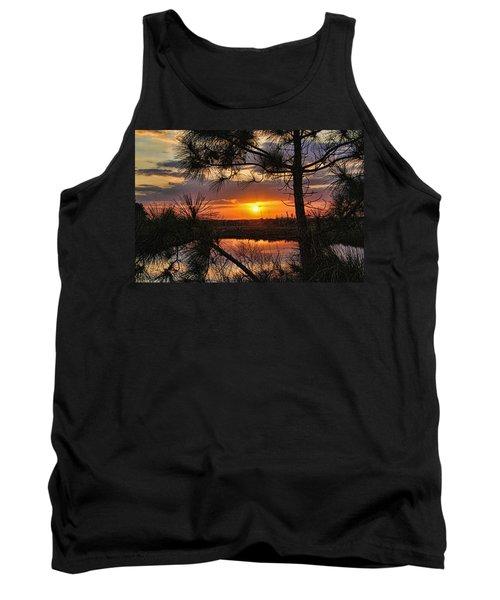 Florida Pine Sunset Tank Top