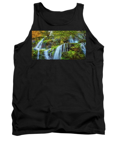 Tank Top featuring the photograph Flow by John Poon