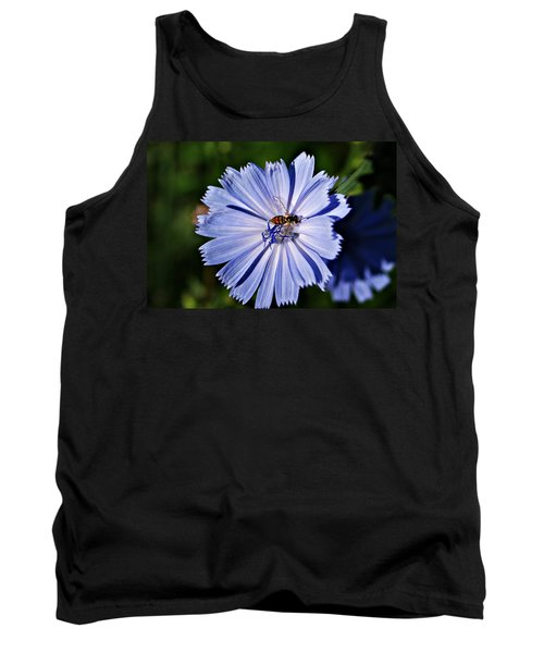 Flower And Bee 2 Tank Top