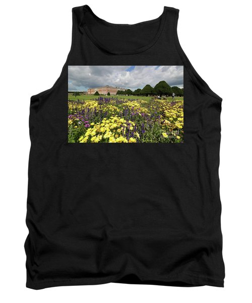 Flower Bed Hampton Court Palace Tank Top