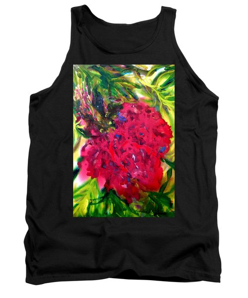 Flower In The Garden Tank Top