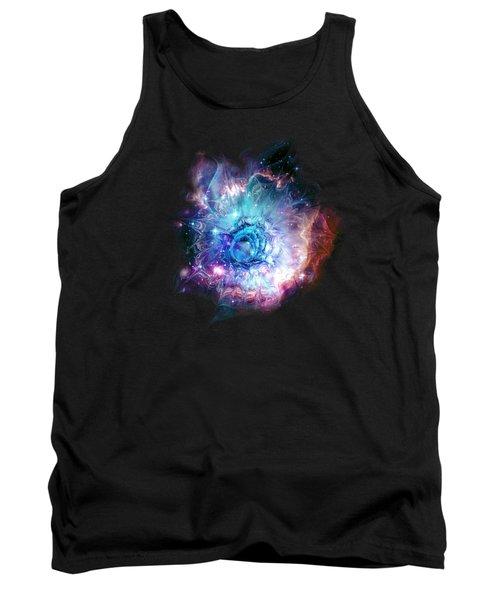 Flower Nebula Tank Top by Anastasiya Malakhova