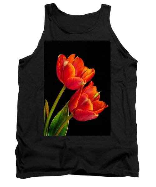 Flower Of Love Tank Top by David and Carol Kelly
