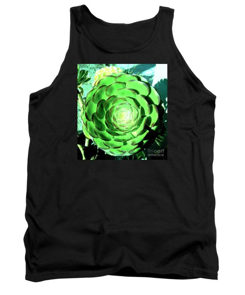 Flower Pattern Of Life Tank Top by Vanessa Palomino