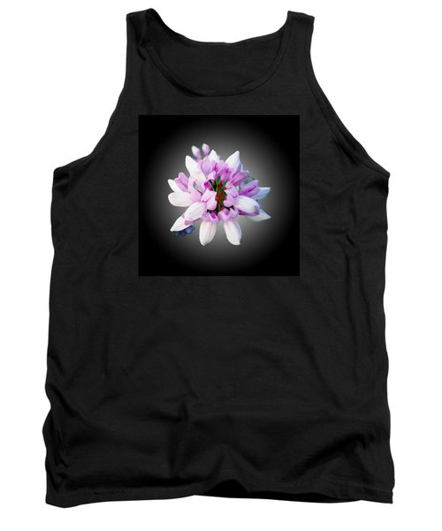 Flower  Securigera Varia Tank Top by Mike Breau