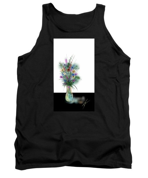 Flower Study One Tank Top